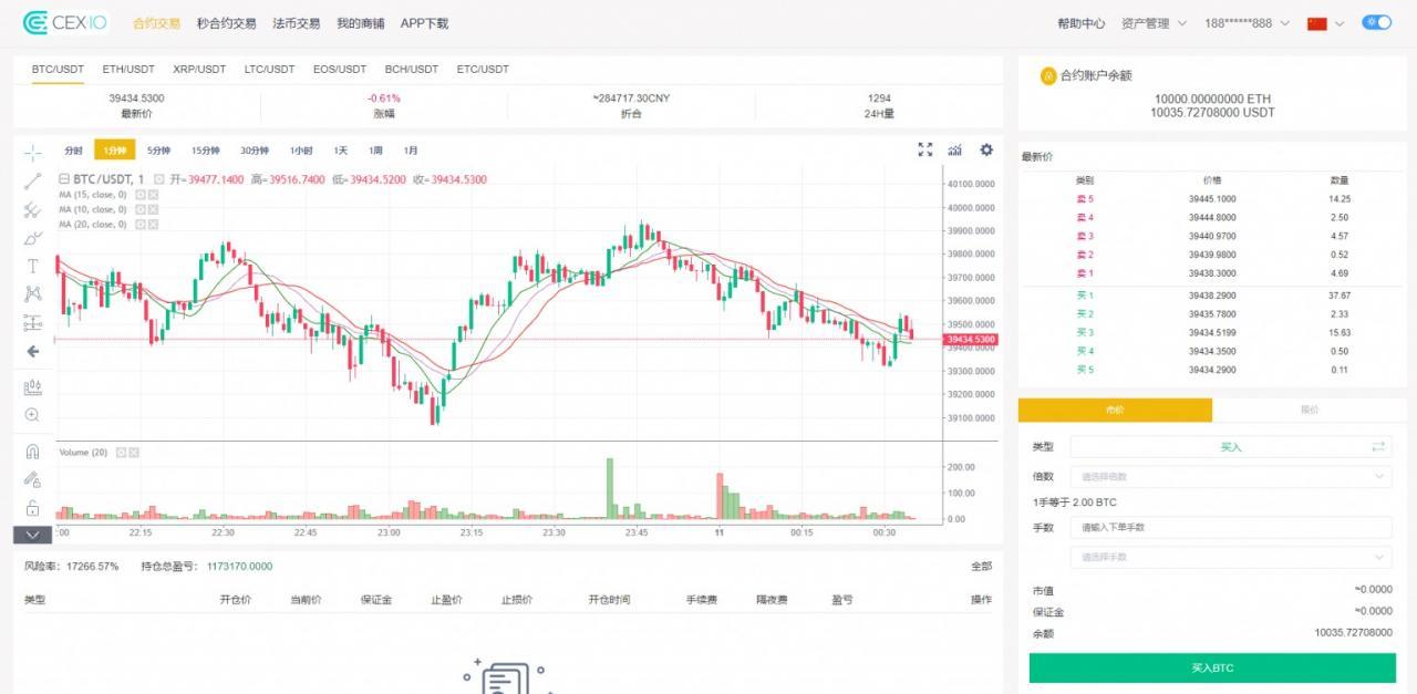 互站1w1购买最新虚拟币白色交易所/秒合约/带划转/带商铺/多语言插图(18)