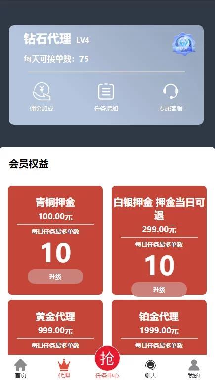 互站买的抖音点赞任务平台源码/代理全自动/会员制度二开插图(13)
