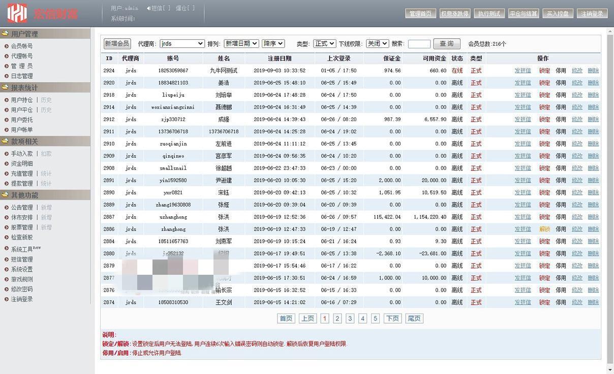 【T+0】PHP股票证券线上配资融资融券模拟交易、模拟盘平台系统源码插图(15)