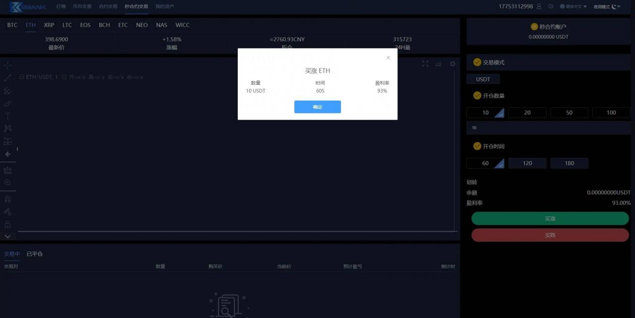 多语言白色交易所虚拟币行情交易平台源码插图(5)